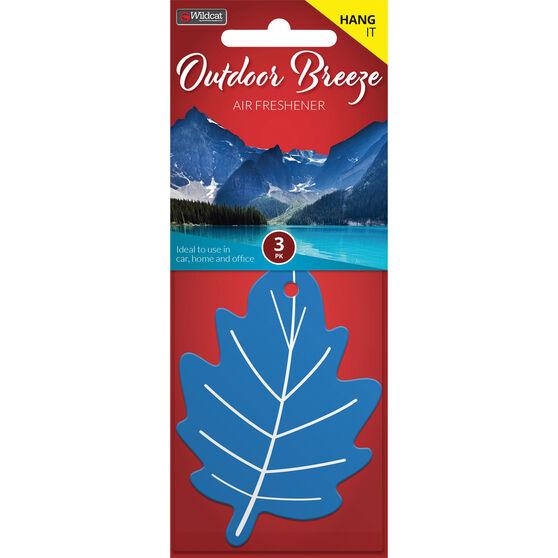 Leaf Scents Air Freshener - Outdoor Breeze, 3 Pack, , scanz_hi-res