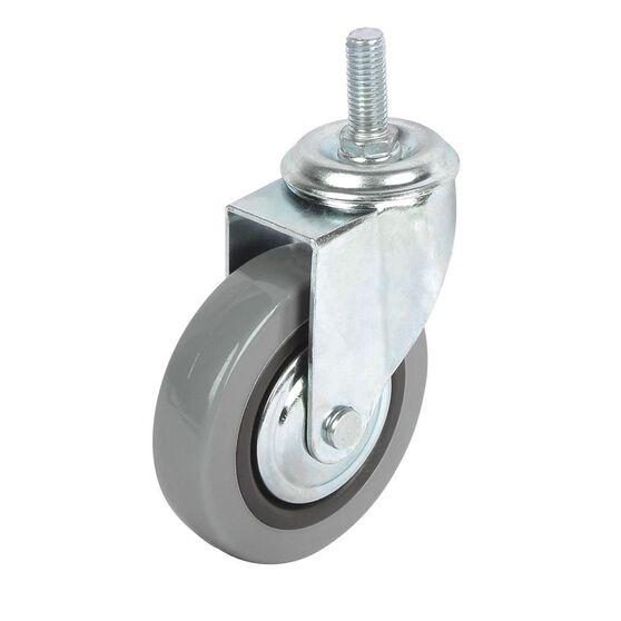 SCA Caster Wheel - 100 x 24mm, Plastic, Swivel, , scanz_hi-res