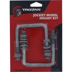 Trojan U Bolt Kit - To Suit Drawbar 80mm x 100mm, , scanz_hi-res