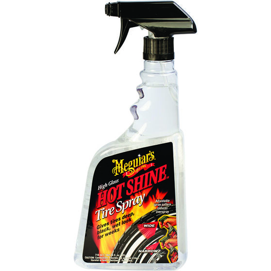 Meguiar's Hot Shine Tyre Spray 710mL, , scanz_hi-res
