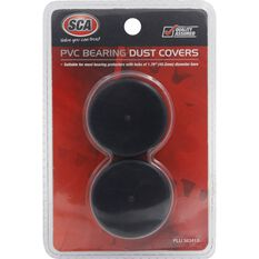 SCA PVC Bearing Dust Covers - Black, 2 Piece, , scanz_hi-res
