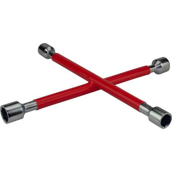 Wheel Brace, Rubber Grip, Red, , scanz_hi-res