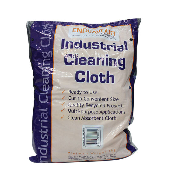 Endeavour Industrial Cleaning Cloths - 1kg, , scanz_hi-res