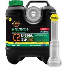 Penrite Enviro+ C2 Engine Oil 0W-30 7 Litre, , scanz_hi-res