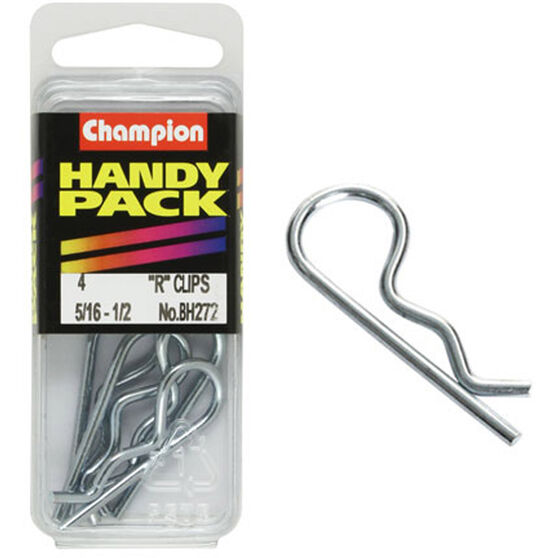Champion R Clips - 5 / 16-1 / 2inch, BH272, Handy Pack, , scanz_hi-res