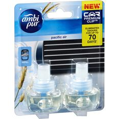Ambi Pur Air Freshener Refill - Pacific Air, 2 Pack, , scanz_hi-res