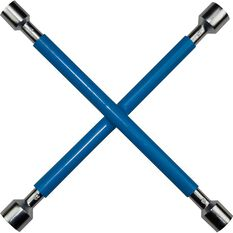 SCA Wheel Brace Rubber Grip Metric Blue, , scanz_hi-res