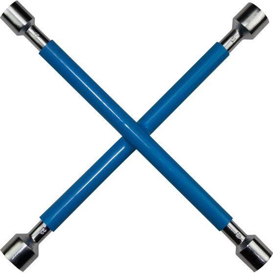 SCA Wheel Brace Rubber Grip Metric Blue, , scanz_hi-res