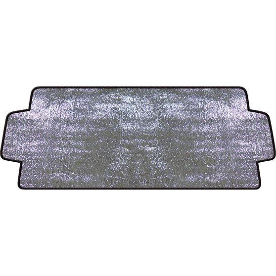 SCA External Sunshade - Silver, Accordion, Front, , scanz_hi-res
