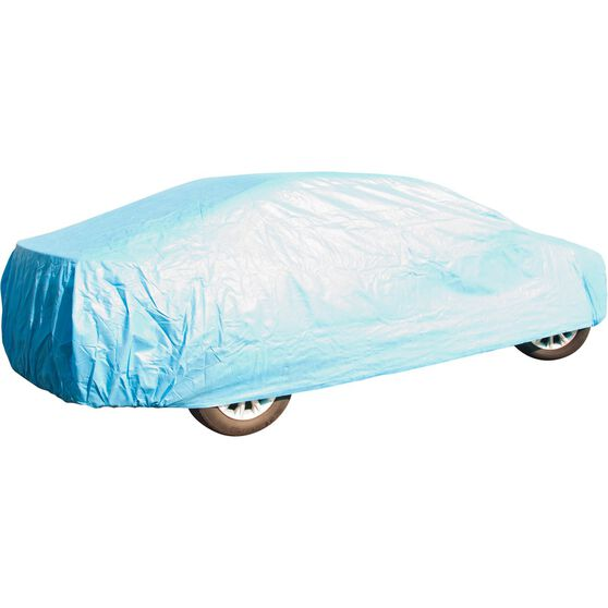 CoverALL Car Cover Silver Protection - Water Resistant, Large, , scanz_hi-res