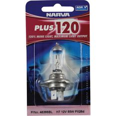 Narva Headlight Globe - Plus 120, H7, 12V, 55W, , scanz_hi-res