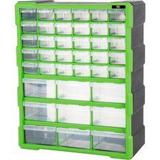 39 Drawer Organiser - Green, , scanz_hi-res