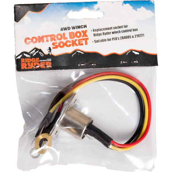 4WD Winch Control Box Replacement socket, , scanz_hi-res