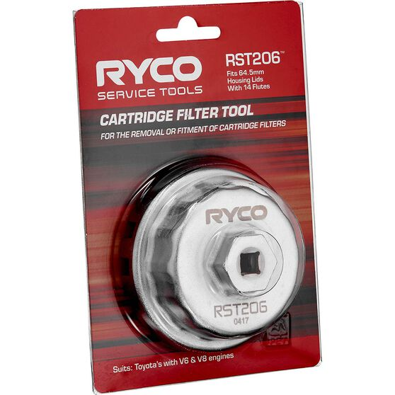Ryco Oil Filter Cup Wrench RST206, , scanz_hi-res