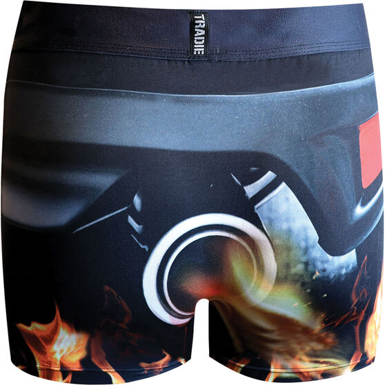 Tradie Quick Dry Trunks - Exhaust S, Exhaust, scanz_hi-res