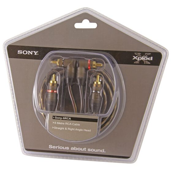 Sony RCA Cable - 6m, SONY6RCA, , scanz_hi-res