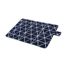 SCA Picnic Rug - Navy and White, 1.5m x 2m, , scanz_hi-res