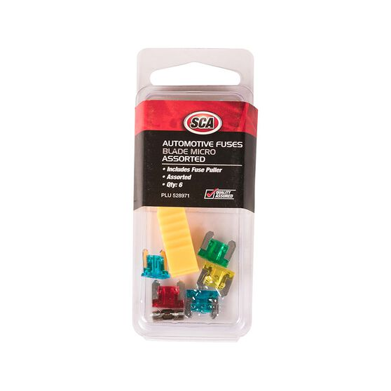 SCA Fuse Blade Assorted, , scanz_hi-res
