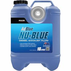 Nulon NU-BLUE Diesel Exhaust Fluid 10L, , scanz_hi-res