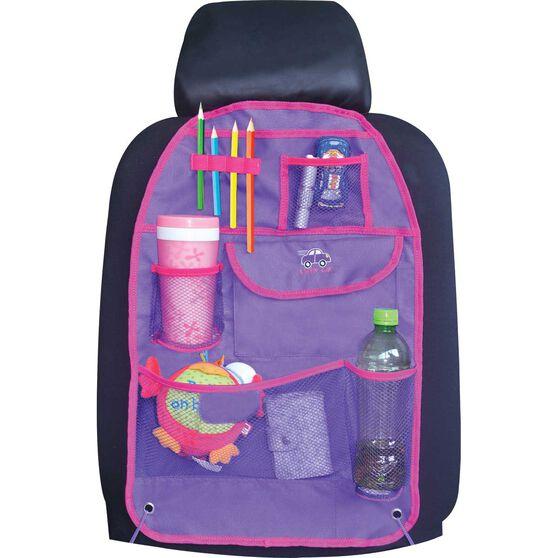 Organiser - Purple, Backseat, , scanz_hi-res