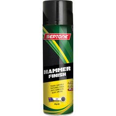 Septone Aerosol Paint Hammer Finish - Metallic Black, 400g, , scanz_hi-res