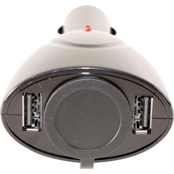 SCA Socket + Twin USB Adaptor -12V, , scanz_hi-res