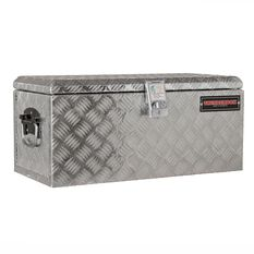 Thunderbox Tool Box - Aluminium Checkerplate, 48 Litre, , scanz_hi-res
