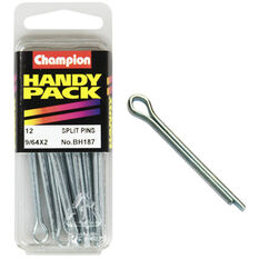 Champion Split Pins - 9 / 64inch X 2inch, BH187, Handy Pack, , scanz_hi-res
