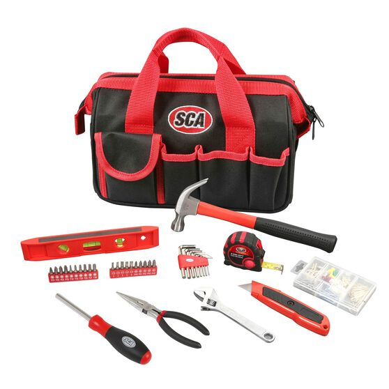SCA Handyman Tool Set with Bag - 141 Piece, , scanz_hi-res