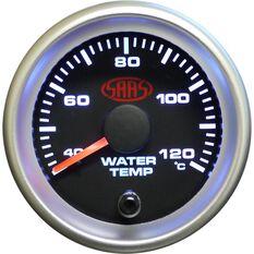 SAAS Water Temperature Gauge - Black, 52mm, , scanz_hi-res