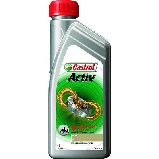 Castrol Activ 2T Motorcycle Oil - 1 Litre, , scanz_hi-res