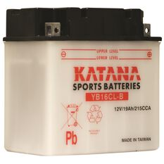 Katana Powersports Battery YB16CL-B, , scanz_hi-res