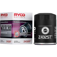 Ryco Syntec Oil Filter Z432ST (Interchangeable with Z432), , scanz_hi-res