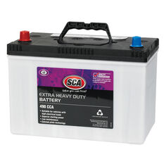 SCA Car Battery - Extra Heavy Duty - GN70Z13, 490 CCA, , scanz_hi-res