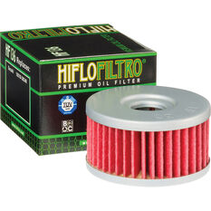 Motorcycle Oil Filter - HF136, , scanz_hi-res