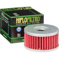 Motorcycle Oil Filter - HF136, , scanz_hi-res