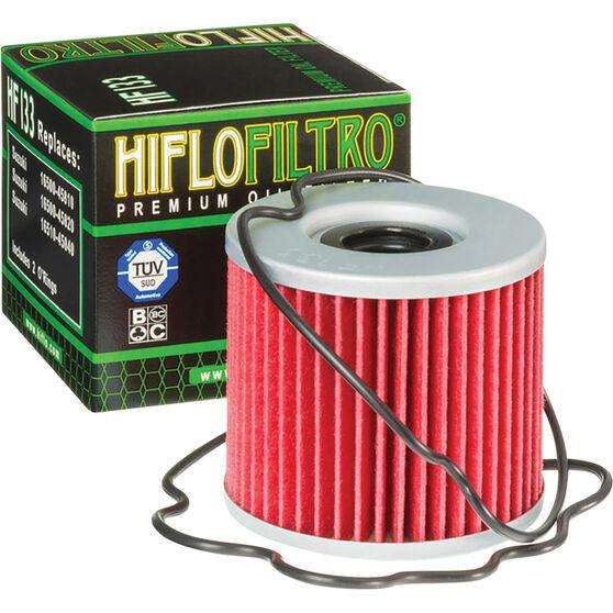 Motorcycle Oil Filter - HF133, , scanz_hi-res