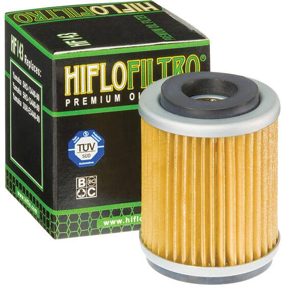 Motorcycle Oil Filter - HF143, , scanz_hi-res