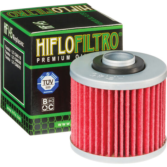 Motorcycle Oil Filter - HF145, , scanz_hi-res