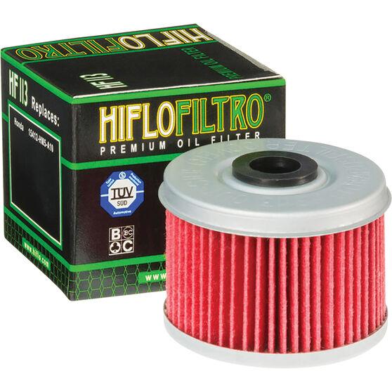 Motorcycle Oil Filter - HF113, , scanz_hi-res