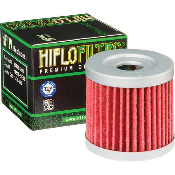 Motorcycle Oil Filter - HF139, , scanz_hi-res