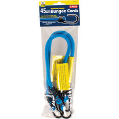 Bungee Cord, Metal Hook - 45cm, 2 Pack, , scanz_hi-res