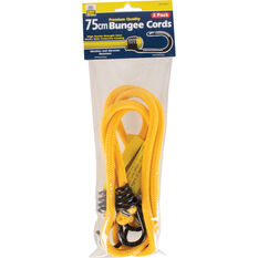 Bungee Cord, Metal Hook - 75cm, 2 Pack, , scanz_hi-res