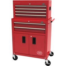 SCA Tool Cabinet - 6 Drawer, Combo - 27 inch, , scanz_hi-res
