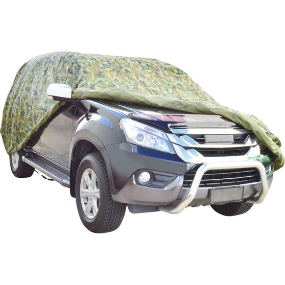 SCA 4WD Camouflage Car Cover, , scanz_hi-res