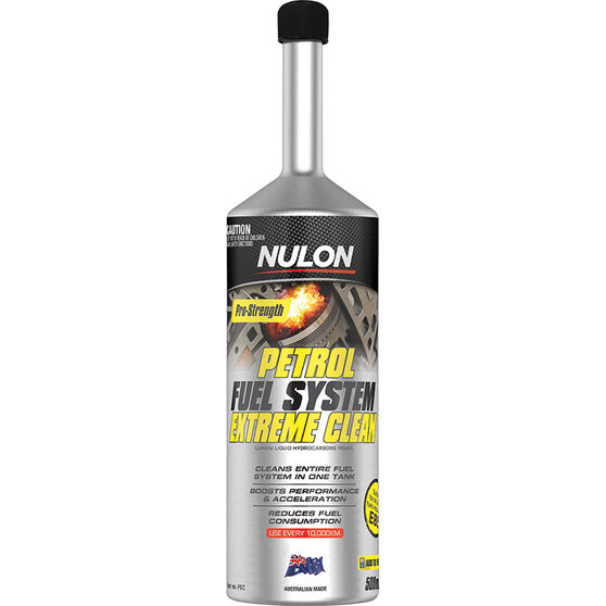 Nulon Pro Strength Petrol Fuel System Extreme Clean 500ml, , scanz_hi-res