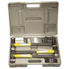 SCA Fibreglass Body Repair Kit - Yellow / Black, 7 Pieces, , scanz_hi-res