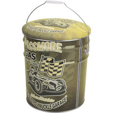 Tin Storage Stool - Racecar, Busted Knuckle, , scanz_hi-res