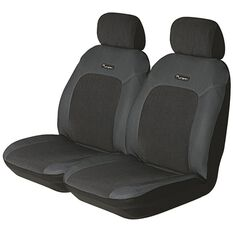 Urban Seat Covers - Grey, Adjustable Headrests, Size 30, Front Pair, Airbag Compatible, , scanz_hi-res