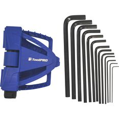 ToolPro Hex Key and Wrench Set - Metric, 13 Pieces, , scanz_hi-res